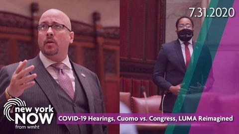 S2020 E31: COVID-19 Hearings, Cuomo vs. Congress, LUMA Reimagined