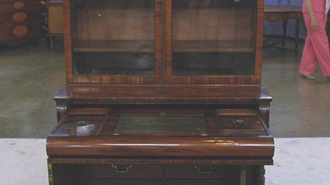 Antiques Roadshow -- S21 Ep20: Appraisal: Regency Secretary Bookcase, ca. 1815