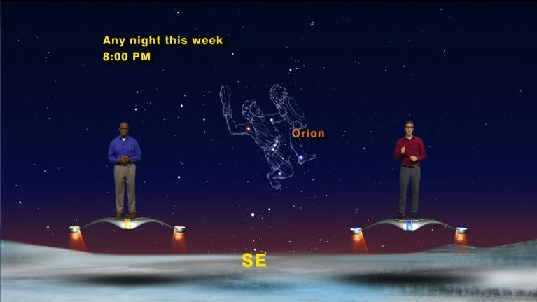 """Star Gazers: """"Orion from a New Perspective"""" December 24 - Dec 30 1 Min"""