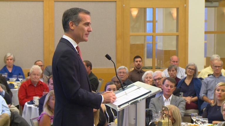 The City Club Forum: Remarks from the Honorable Eric Garcetti
