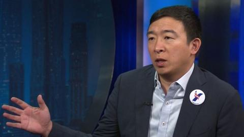 U.S. Democratic Presidential Candidate Andrew Yang