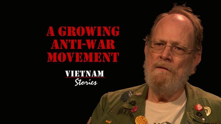 Vietnam Stories: A Growing Anti-War Movement