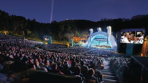 In Concert at the Hollywood Bowl -- Musicals and the Movies