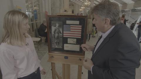 Antiques Roadshow -- Appraisal:  1927 Charles Lindbergh Flag & Signatures