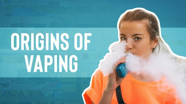 Origin of Everything: The Rise of E-Cigarettes: Why is Everyone Vaping?