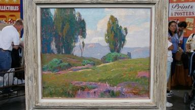 Appraisal: Dana Bartlett Oil Painting, ca. 1935