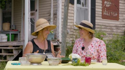 Around the Farm Table -- Preserving the Summer