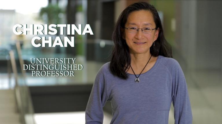 MSU Video: Christina Chan   University Distinguished Professor