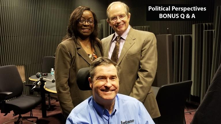 Political Perspectives: Political Perspectives: Tallahassee City Comm. Seat 5(BONUS)