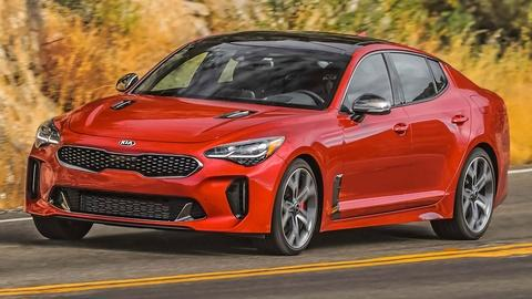 2018 Kia Stinger & cars.com Compact SUV Challenge