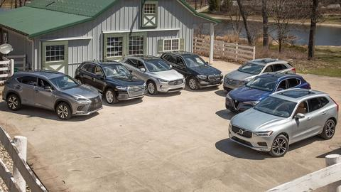 Luxury Compact SUV Challenge & 2018 Subaru Crosstrek