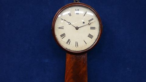 Antiques Roadshow -- S21 Ep16: Appraisal: Joseph Nye Dunning Timepiece, ca. 1825