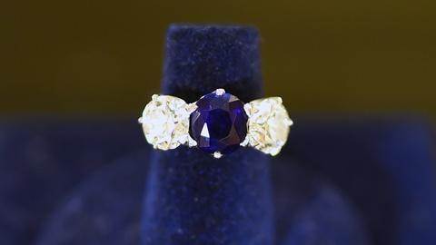 Antiques Roadshow -- Appraisal: Tiffany & Co. Sapphire & Diamond Ring, ca. 1913
