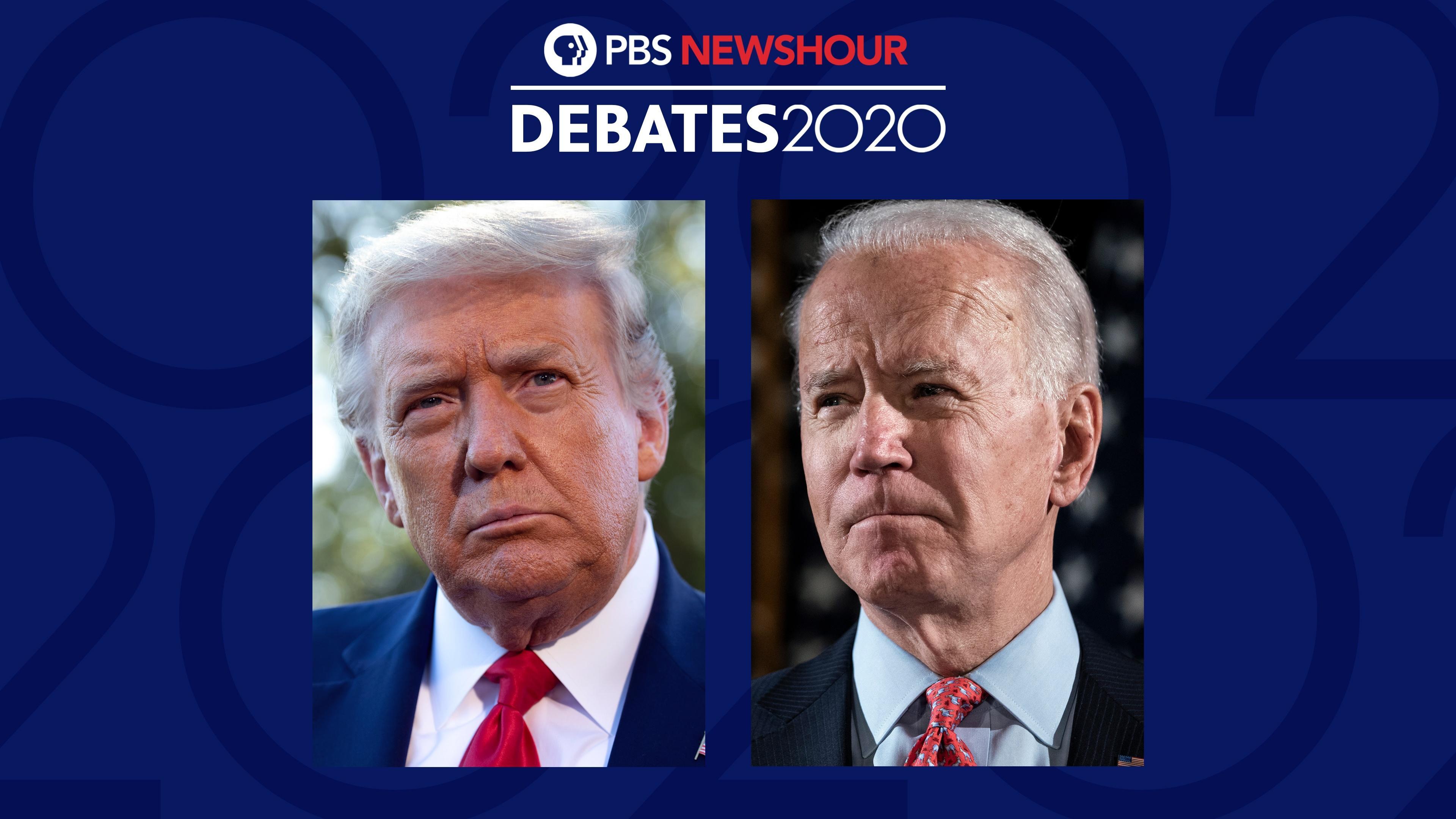 2020 Presidential Debate - Night 1