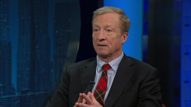 Amanpour and Company: Presidential Candidate Tom Steyer Explains Why He's Running