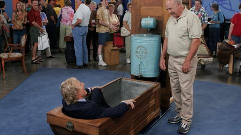 Antiques Roadshow -- Appraisal: Convertible Bath Tub, ca. 1880