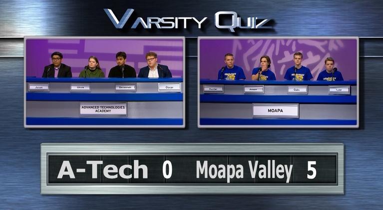 Varsity Quiz from Vegas PBS: Blue League Semifinal II