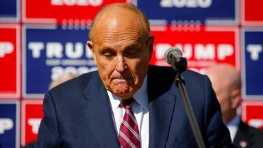 News Wrap: Feds search Rudy Giuliani's home, office