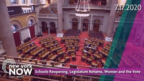S2020 E29: Schools Reopening, Legislature Returns, Women and the Vote