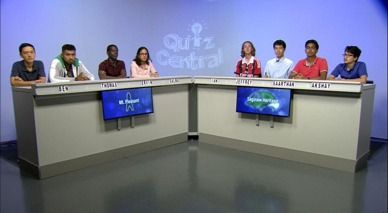 Quiz Central: Mt. Pleasant vs. Saginaw Heritage