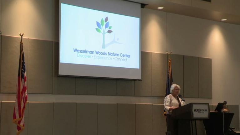 Evansville Rotary Club: Regional Voices: Levy Schroeder, Wesselman Woods Playscape