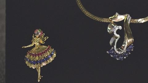 Antiques Roadshow -- S21 Ep19: Appraisal: Ballerina Brooch & Monogram Necklace