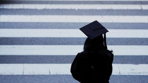 Once homeless, a new college graduate looks to the future