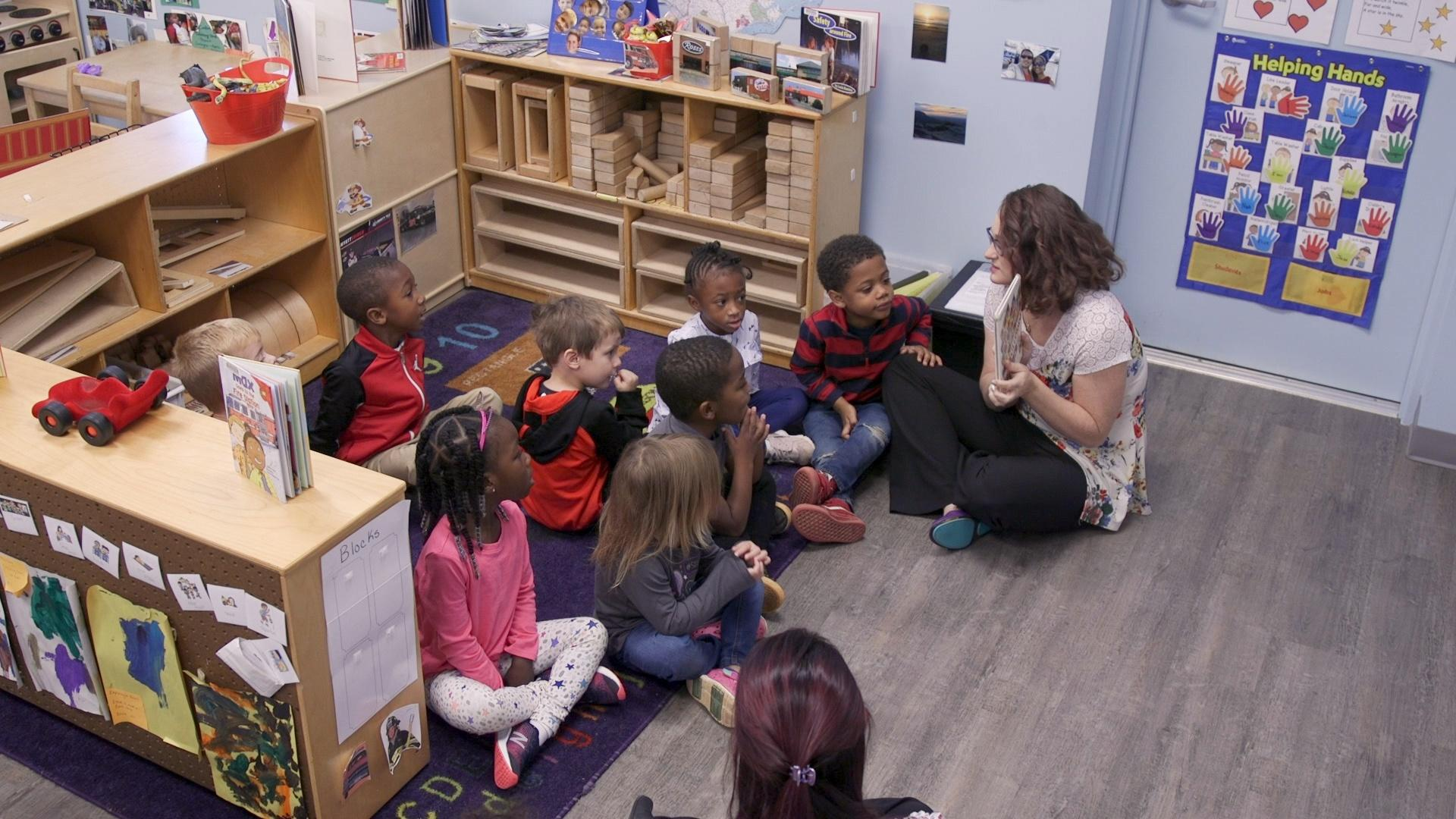 Creating Quality Pre-K Teachers in Forsyth County