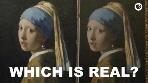 The Art Assignment -- Which is the Real Girl with a Pearl Earring?