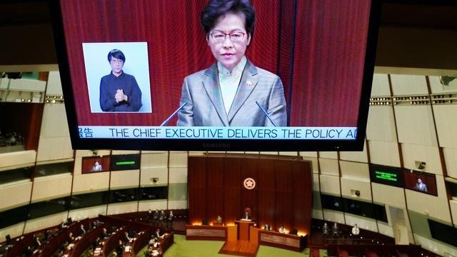 News Wrap: Hong Kong's leader says new law brings stability
