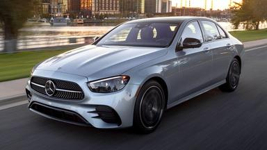 2021 Mercedes-Benz E450 & 2021 Toyota Venza