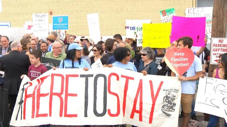 NJTV News: Family reunification left in question at detention rally