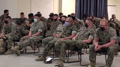 PBS NewsHour | An inside look at anti-extremism training in the military