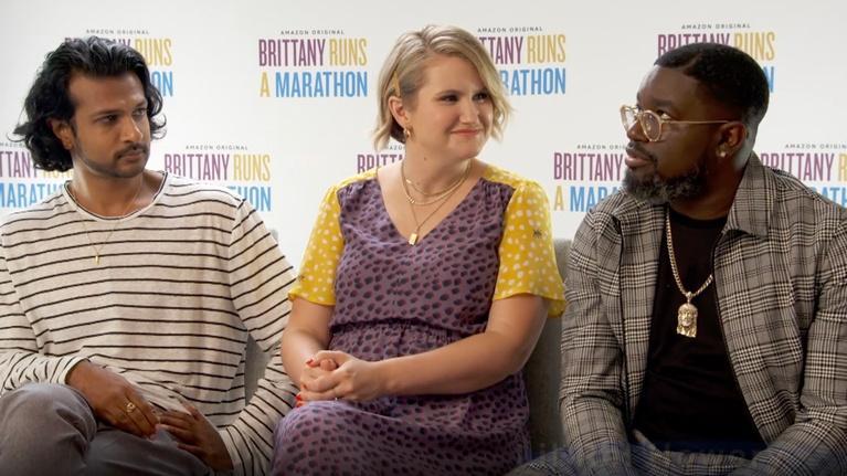 "Flicks: The Stars of ""Brittany Runs a Marathon"""