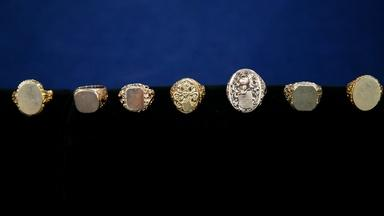 Appraisal: Early 20th C. Gold Signet Ring Collection