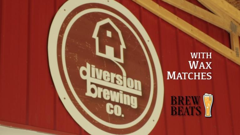 Brew Beats: Wax Matches at Diversion Brewing Company