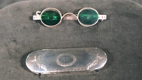 Antiques Roadshow -- Appraisal: 19th C. Coin Silver Box & Spectacles