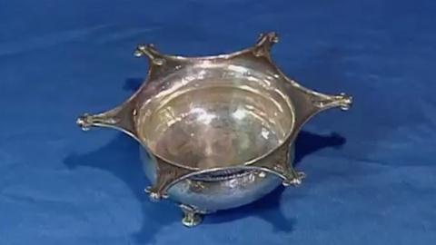 Appraisal: 1907 Omar Ramsden Silver Dish