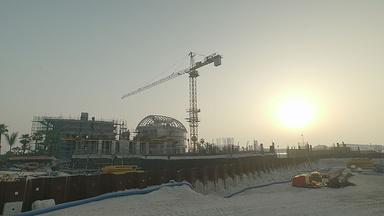 Construction on Sweden Island Begins