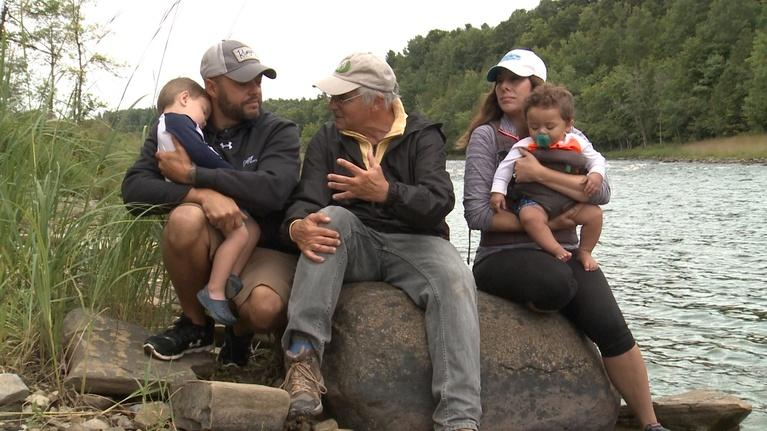Fishing Behind The Lines: Family Matters