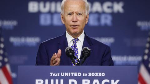 Who has the momentum to join Biden on Democratic ticket?