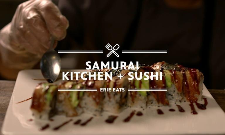 Erie Eats: Samurai Sushi & Kitchen