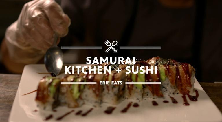 Erie Eats: Erie Eats: Samurai Sushi & Kitchen