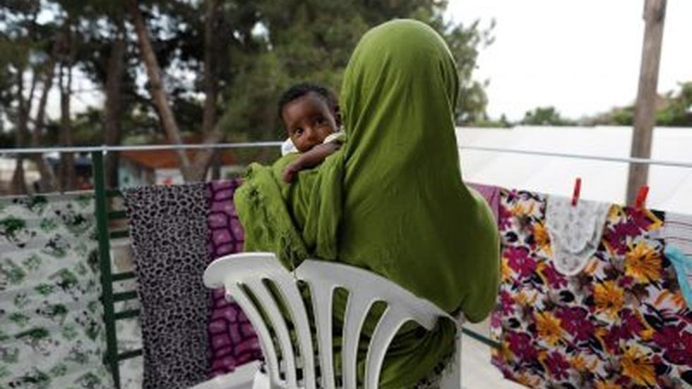 Refugees in need of mental health help flounder on Lesbos image