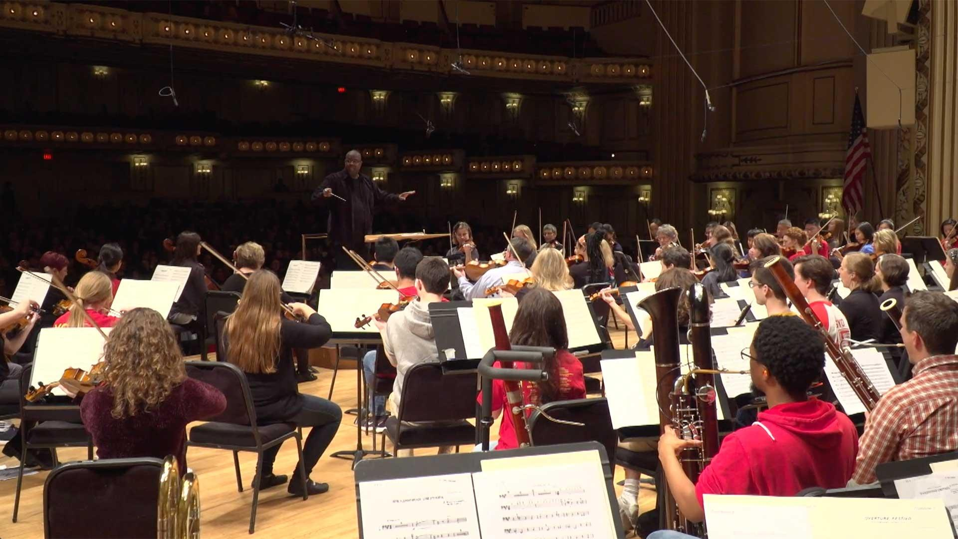 Youth Orchestra Reunion