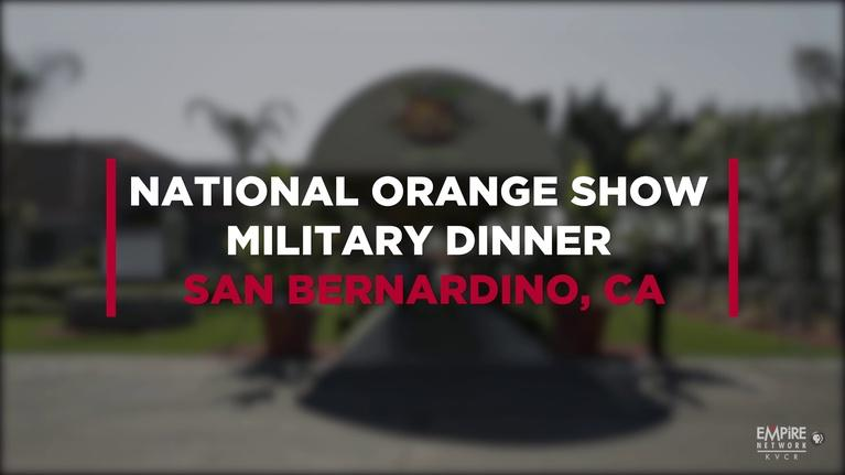 State of the Empire: National Orange Show Military Dinner