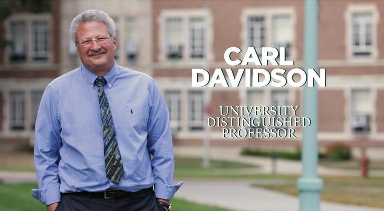 MSU Video: Carl Davidson   University Distinguished Professor