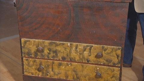 Antiques Roadshow -- Appraisal: Painted Two-drawer Blanket Chest, ca. 1820