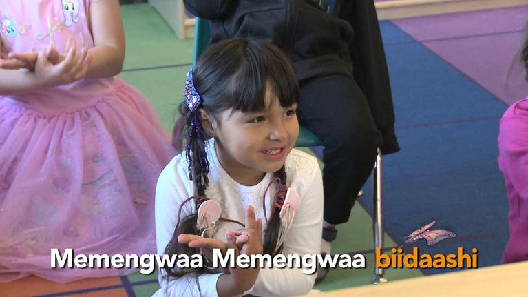 Ojibwemotaadidaa!: Memengwaa (Butterfly)