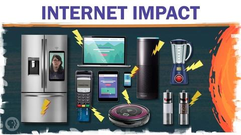 Hot Mess -- How Much Energy Does the Internet Use?